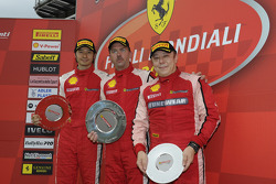 Coppa Shell Ferrari Asia Pacific Challenge race 2 podium