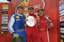 Coppa Shell Ferrari Italia race 2 podium