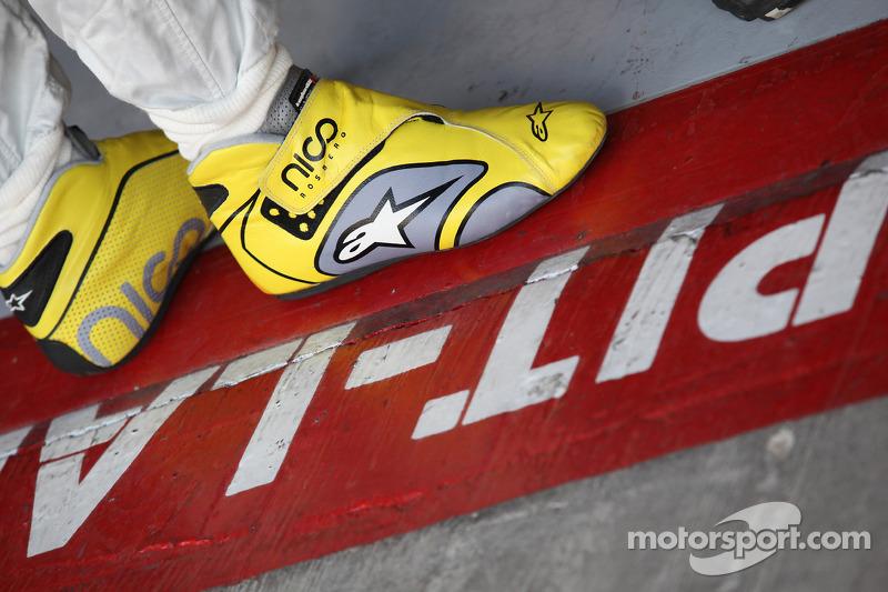 Nico Rosberg, Mercedes GP F1 Team boots