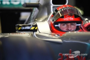 Fifth place for Schumacher this afternoon