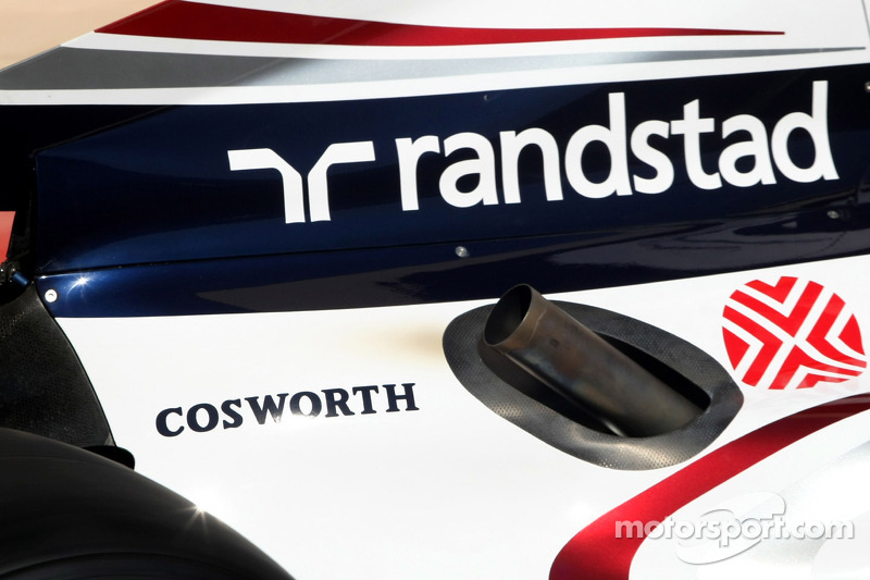 Williams F1 Team, Technical detail new exhaust system