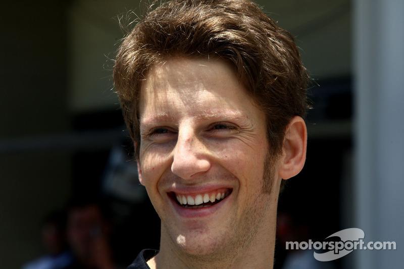 Romain Grosjean, , Lotus Renault GP