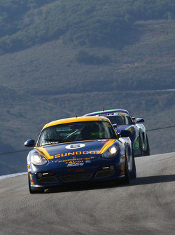 David Donahue 2011 Sunoco Porsche Cayman Interseries