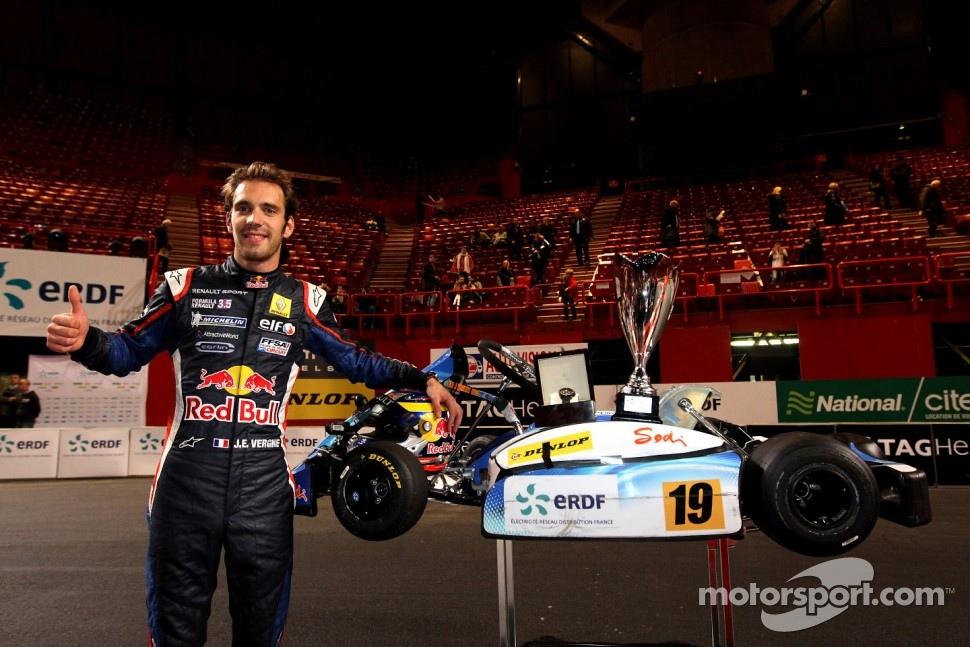 Winner Jean-Eric Vergne