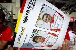 Hero card for#13 Rebellion Racing Lola B 10/60 Coupe-Toyota: Andrea Belicchi, Jean-Christophe Boullion