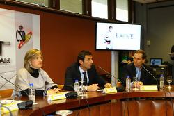 Pedro de la Rosa ve Takım Patronu Luis Perez-Sala
