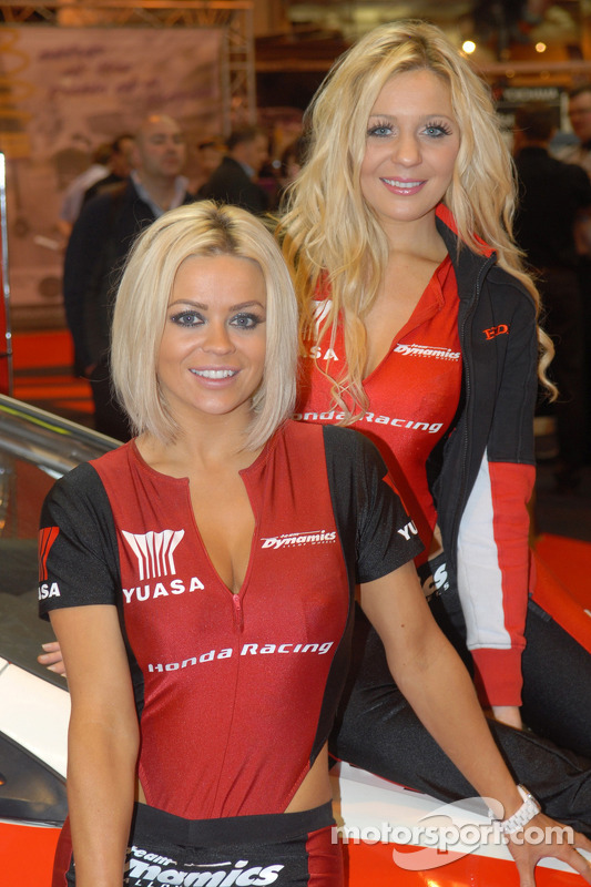 Team Dynamics, Honda Racing Promo Girls