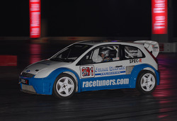 Ford Fiesta Rallycross In the Live Action Areana