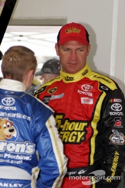 Clint Bowyer, Michael Waltrip Racing Toyota and Mark Martin, Michael Waltrip Racing Toyota