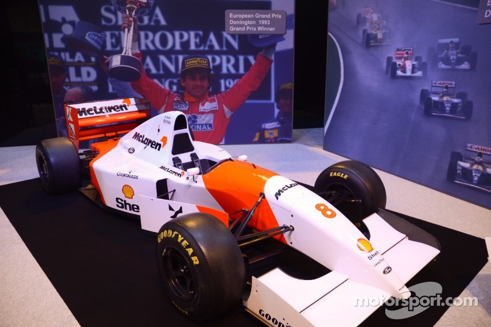 McLaren-Ford MP4/8 - 1993 European P winner - one of Ayrton Sennas greatest victories
