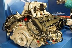 McLaren MP4-12C engine and gearbox