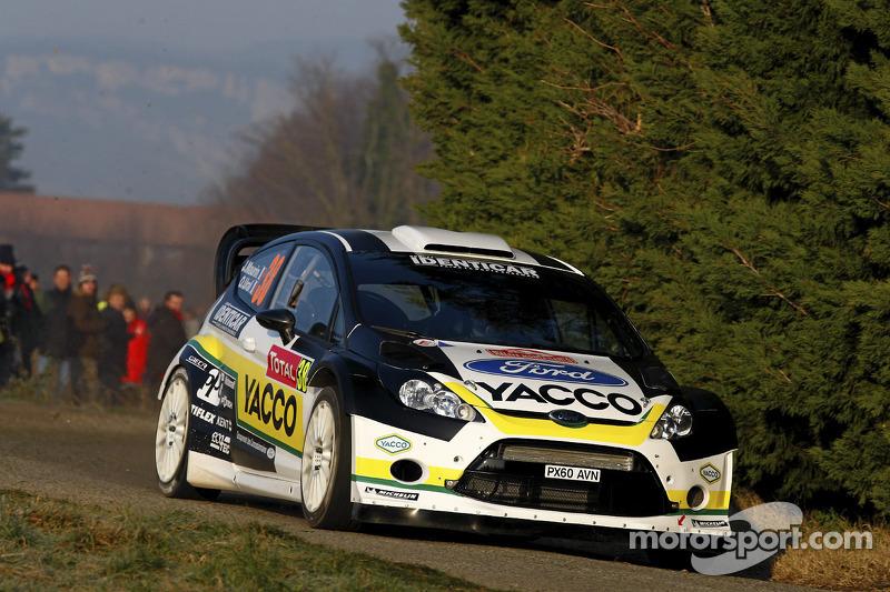 Julien Maurin en Olivier Ural, Ford Fiesta RS WRC