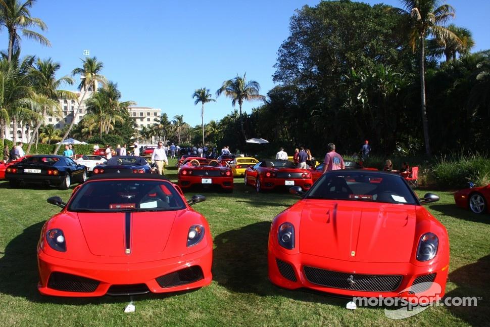Ferrari 16M Scuderia and 599 GTO