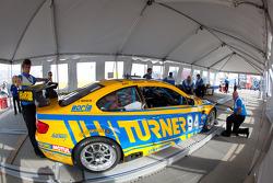 Turner Motorsport BMW M3 at technical inspection
