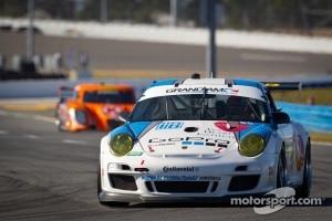 #18 Mühlner Motorsports America, LLC Porsche GT3: Davy Jones, Bill Lester, John McCutchen, Mark J. Thomas