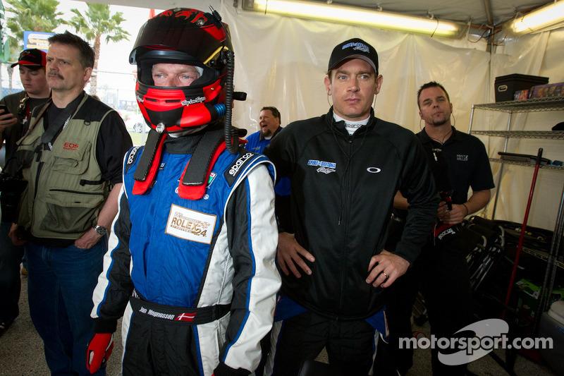 Jan Magnussen en Richard Westbrook