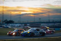#67 TRG Porsche GT3: Steven Bertheau, Jeroen Bleekemolen, Marc Goossens, Wolf Henzler, Spencer Pumpelly, #77 Doran Racing Ford Dallara: Brian Frisselle, Burt Frisselle, Jim Lowe, Paul Tracy