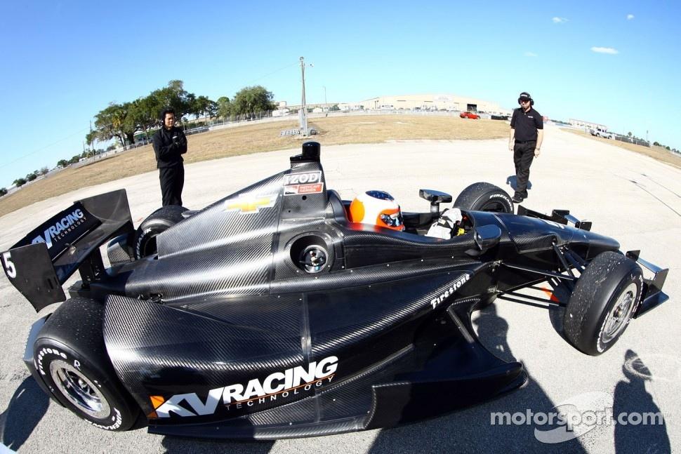 Rubens Barrichello, KV Racing Technology