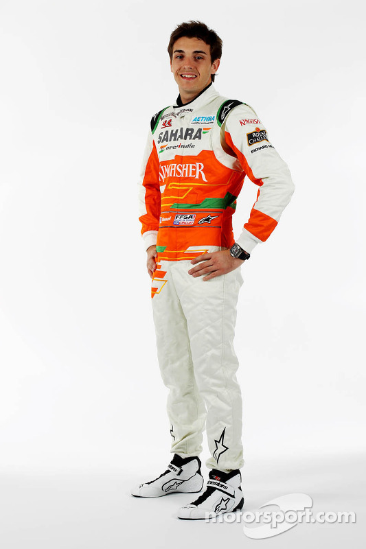 Jules Bianchi, Testfahrer, Sahara Force India F1 Team