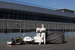 Sergio Perez, Sauber F1 Team and Kamui Kobayashi, Sauber F1 Team