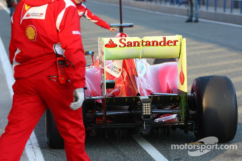 Felipe Massa, Scuderia Ferrari achtervleugel