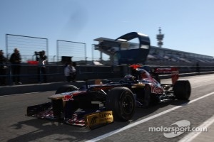 Toro Rosso, last pre-season tests at Jerez.