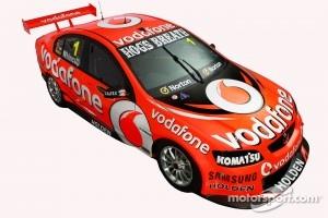 The 2012 TeamVodafone Holden