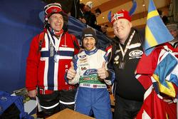 Petter Solberg met fans