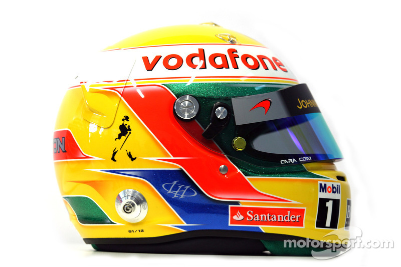 Lewis Hamilton, McLaren Mercedes helm