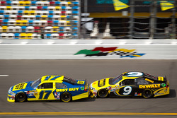 Matt Kenseth, Roush Fenway Racing Ford, Marcos Ambrose, Richard Petty Motorsport Ford