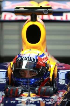 Mark Webber is also a title contender