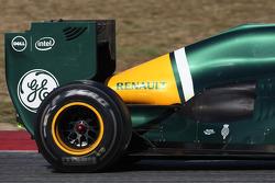 Caterham F1 Team  rear wing