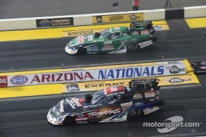 John Force and Courtney Force