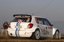 Sébastien Ogier y Julien Ingrassia, Skoda Fabia S2000, Volkswagen Motorsport