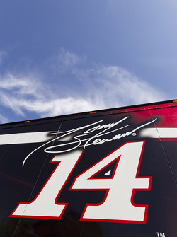 The hauler of Tony Stewart, Stewart-Haas Racing Chevrolet