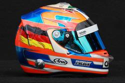 Timo Glock, Marussia F1 Team helmet