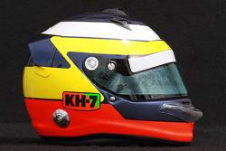 Pedro de la Rosa, HRT Formula One Team helmet
