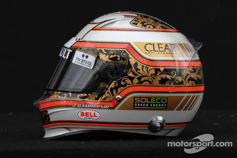 Jérôme d'Ambrosio, Lotus Renault F1 Team helm
