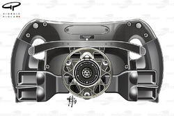 Mercedes F1 W08 steering wheel back Lewis Hamilton