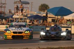 #10 Wayne Taylor Racing Cadillac DPi: Ricky Taylor, Jordan Taylor, Alex Lynn, #96 Turner Motorsport BMW M6 GT3: Jens Klingmann, Justin Marks, Jesse Krohn