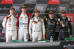 Жюль Гунон, Раффаеле Марчелло, Akka ASP; Марко Мапеллі, Attempto Racing; Макс Бук, Mercedes-AMG Team HTP Motorsport; Льюіс Вілльямсон, Strakka Racing
