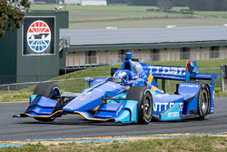 IndyCar-Test in Sonoma, April