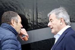 Gerhard Berger, ITR-Chef; Walter Mertes, ITR-Marketingchef