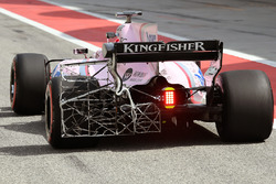 Esteban Ocon, Sahara Force India F1 VJM10 con aero sensor