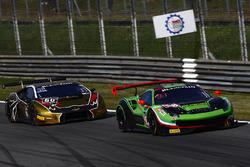 #488 Rinaldi Racing,  Ferrari 488 GT3: Pierre Ehret, Rino Mastronardi, #60 Raton Racing, Lamborghini Huracan GT3: Andrea Amici, Dennis Lind, Stefano Costantini
