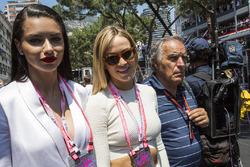 Adriana Lima, Model, Carmen Jorda, Renault Sport F1 Team Development Driver and Giorgio Piola