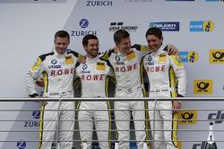 Подиум: второе место – №98 Rowe Racing, BMW M6 GT3: Маркус Палттала, Ники Катсбург, Ричард Уэстбрук, Александр Симс