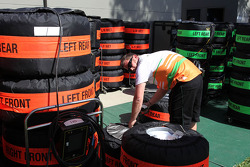 Force India mechanic