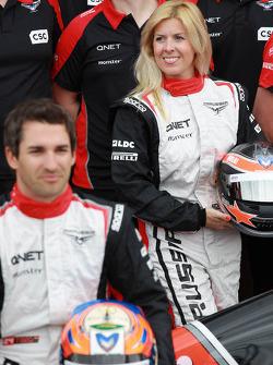 Maria De Villota, test driver, Marussia F1 Team