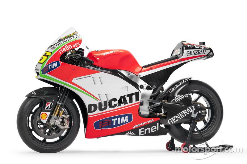 Presentazione Ducati Desmosedici GP12